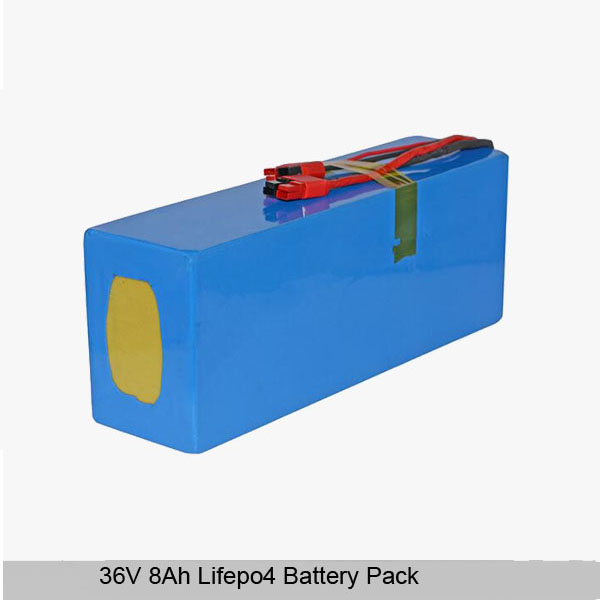 36V 8Ah lithium ion battery pack