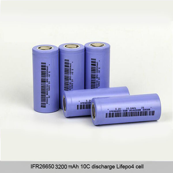 IFR26650 3200mAh Lifepo4 battery