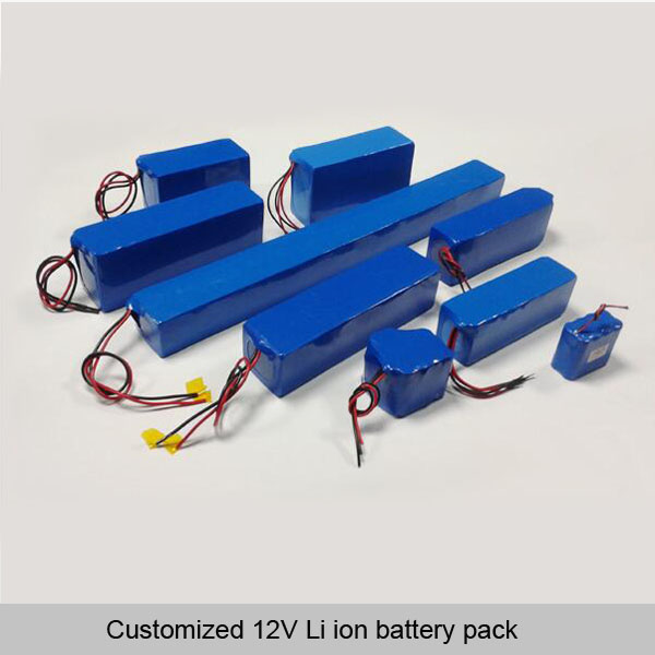 12V Li ion battery pack