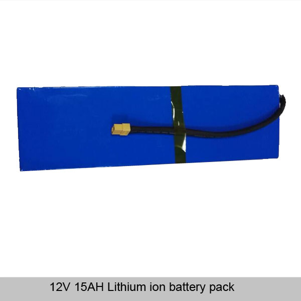 12V 15AH Lithium ion battery pack