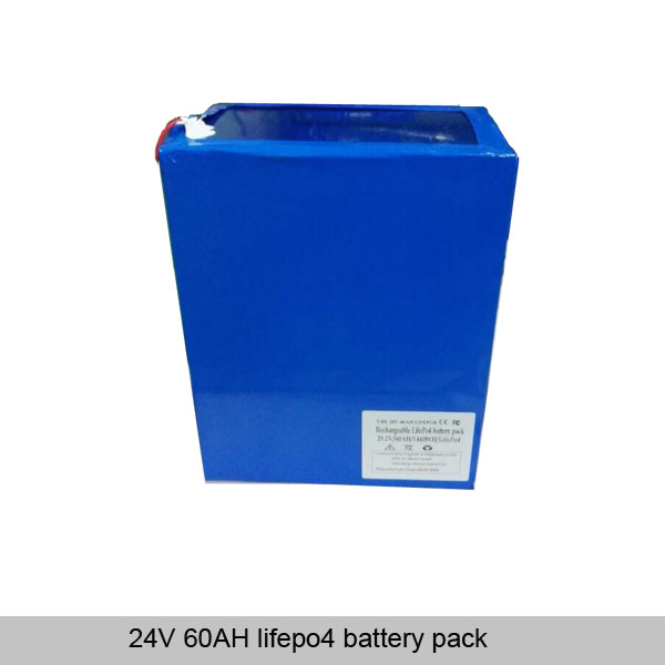 24V 60AH lifepo4 battery pack