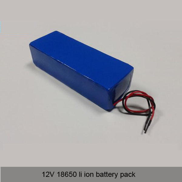 12V 18650 li ion battery pack