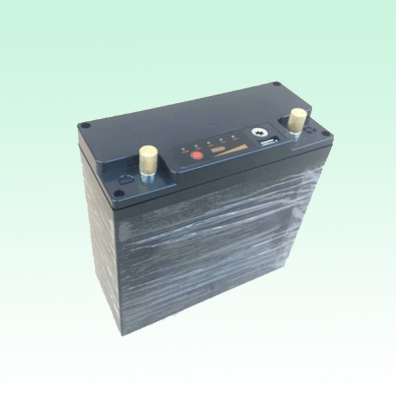 12v 24v lifepo4 battery pack with case power display