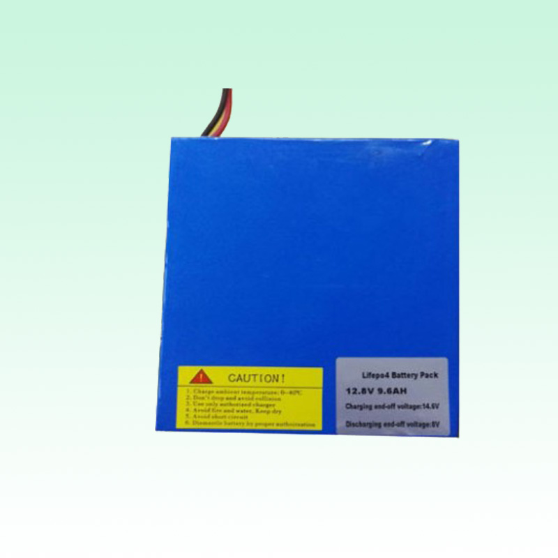 12.8V 9.6Ah Lfiepo4 Battery pack for solar lights